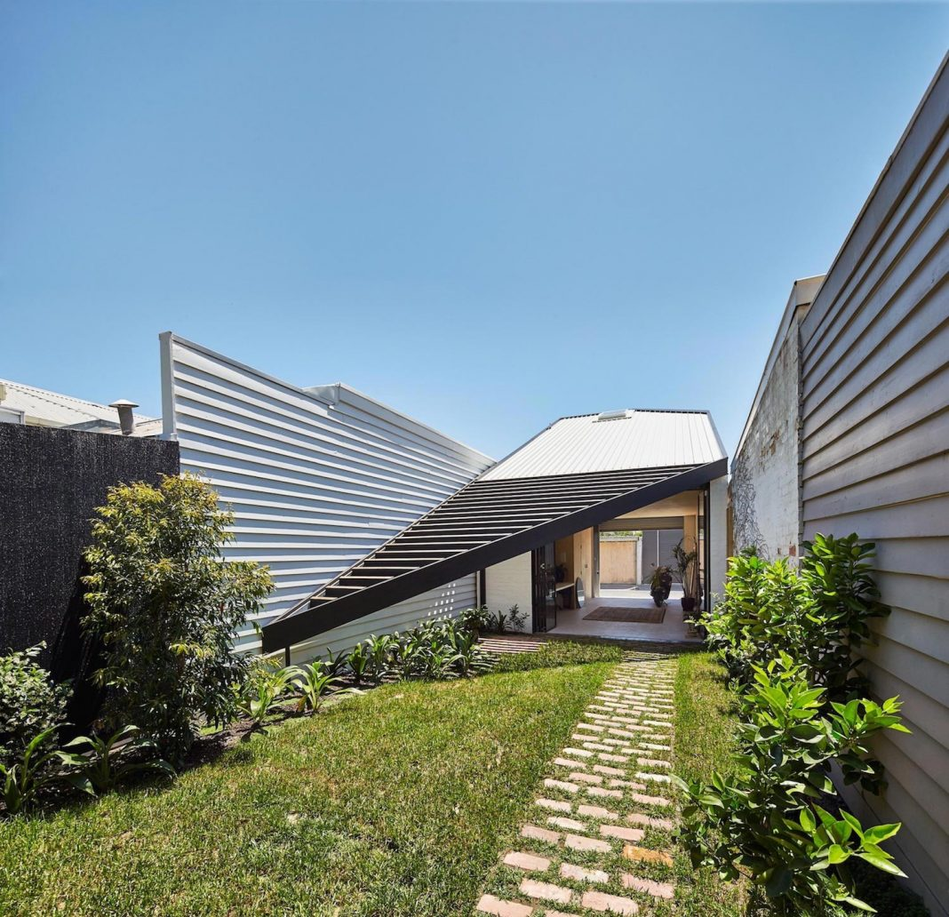 The Kite contemporary stylish renovation by Architecture Architecture
