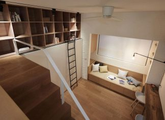 Renovation of an tiny old flat which measures 22 sqm (237 sqft) and 3.3m (11ft) in height