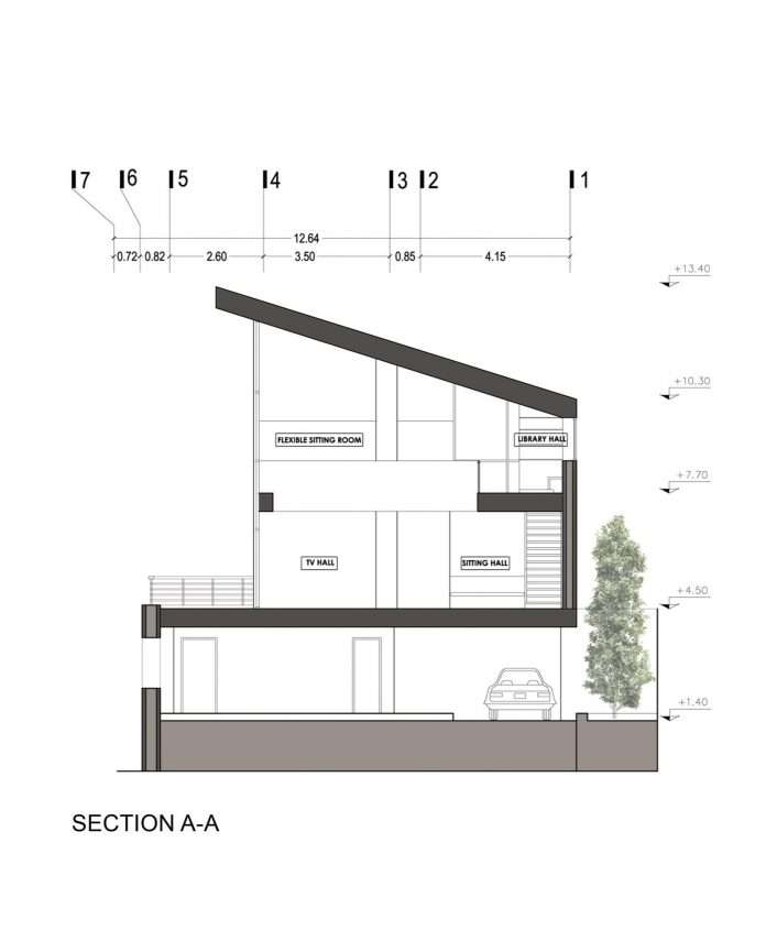 Energy self sufficient two story building which is designed as an old couple s second house - House plans for young couples energetic designs ...