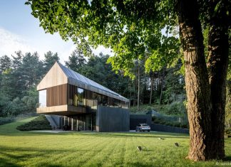 Fairytale contemporary house situated in the middle of the calm and harmony of nature