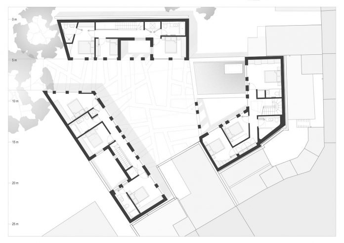 Forest Mews 3 Houses Arranged Around A Multi Functional