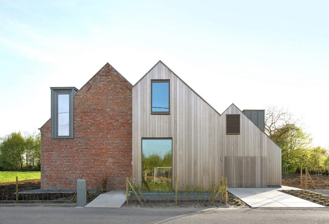 House Chimney Design former farmhouse conversion into contemporary pitched roof house