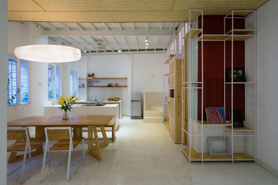 K house a 50sqm 4th grade house with a wooden mezzanine for Interior design appartamenti
