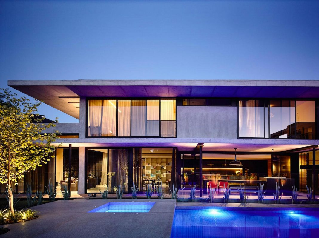 McKimm designs a modern concrete family home in Wolseley
