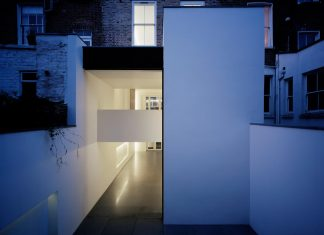 Old victorian town house is converted into modern home for a growing family