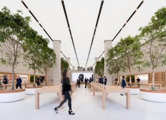 The re-imagining of Apple Regent Street in London marks the continuing evolution of the company