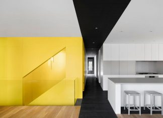 Renovation of a fourplex into a contemporary home with additional unit for rental on the first floor