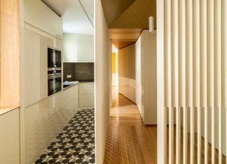Arguelles Apartment Refurbishment into bright wooden new home