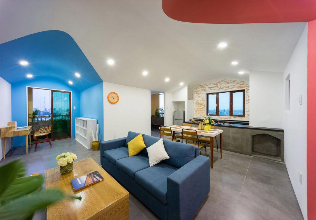 Colourful 2-bedroom apartment in Ho Chi Minh City