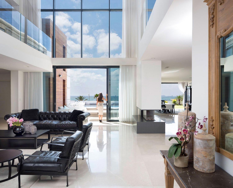 Contemporary House Overlooks The Mediterranean Sea