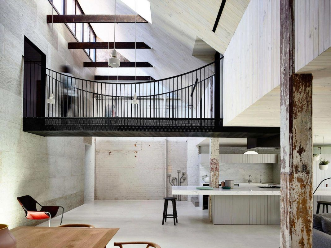 Renovation Warehouse Former Gritty Brick Warehouse In The Old Industrial Of Fitzroy