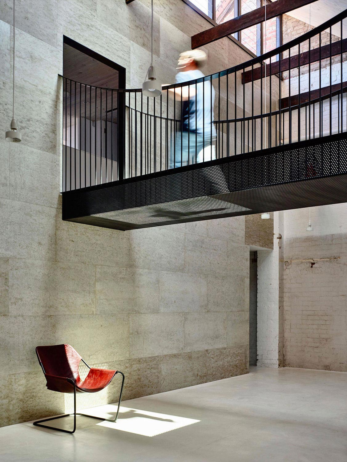 Renovation Warehouse Former Gritty Brick Warehouse Old Industrial Fitzroy Gets Modern