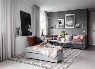 Liljeholmen Scandinavian apartment in Stockholm by Stylingbolaget