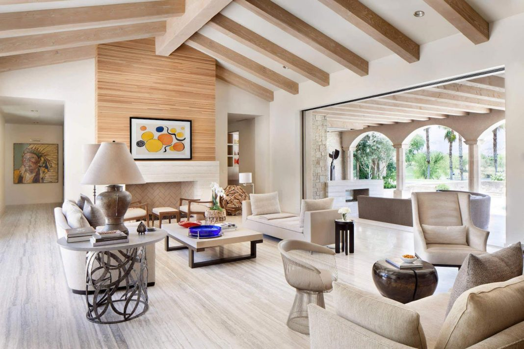 Luxurious single family residence in Palm Springs by Certified Luxury Builders