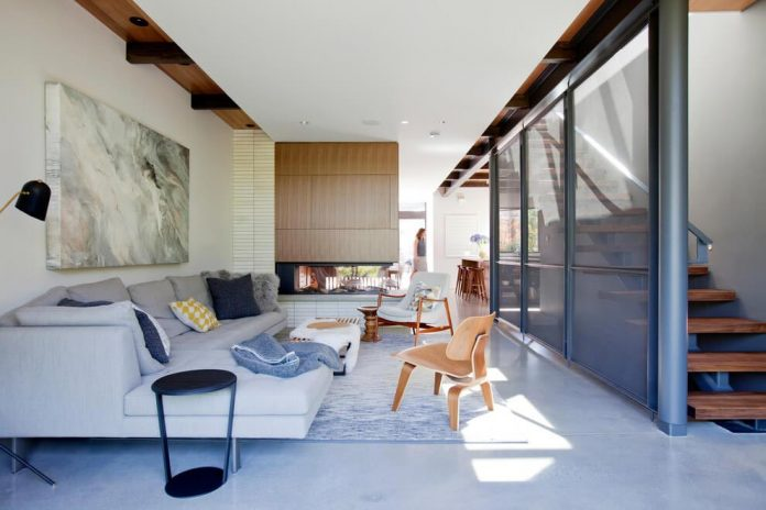 Mid Century Home Design. mid century home design exposed structural steel beam  Mid with I and
