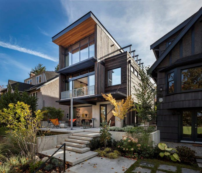 mid-century-home-design-exposed-structural-steel-beam-clear-fir-wood-ceilings-10