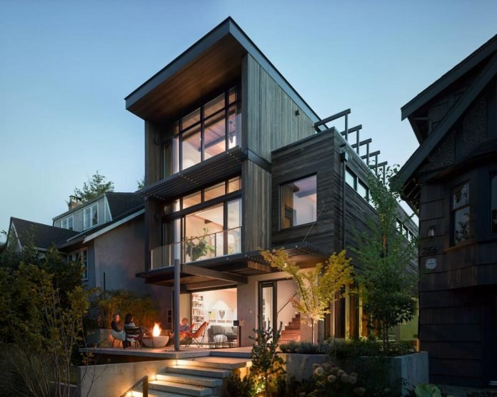 mid-century-home-design-exposed-structural-steel-beam-clear-fir-wood-ceilings-19