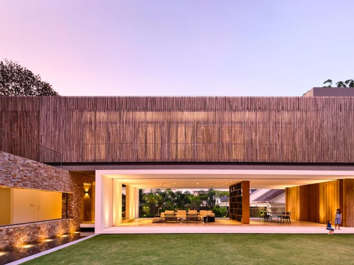 Modern home design but focus on capturing nature alive to create a spectacular vision