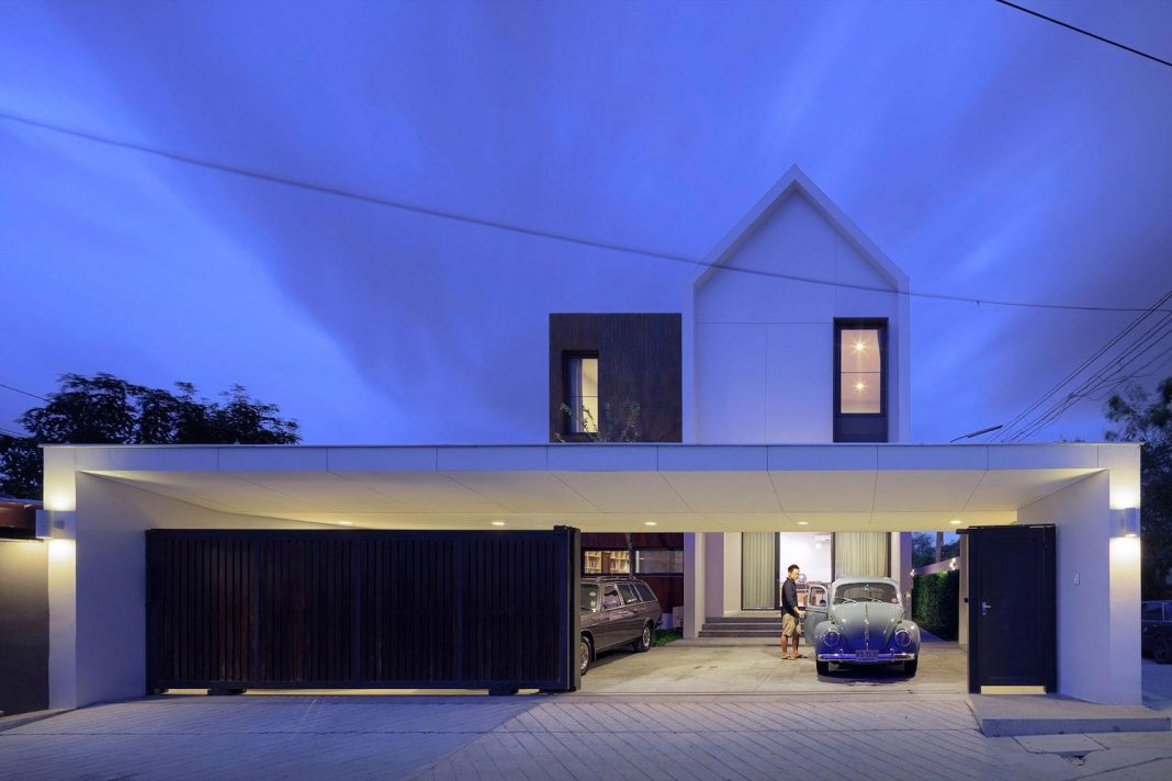 Nawamin 24 House: a contemporary simple house in Bangkok by I Like Design Studio