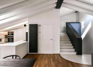 Renovation and extension of an old attic into a contemporary spacious home