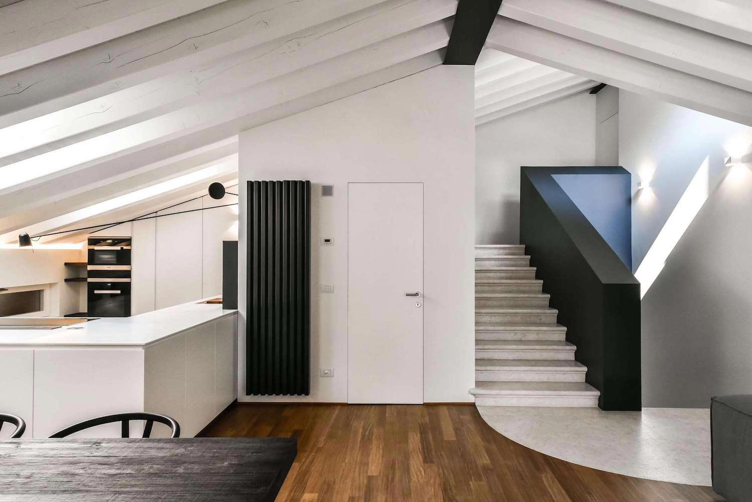 Renovation and extension of an old attic into a for Iblaresort design boutique hotel ragusa rg