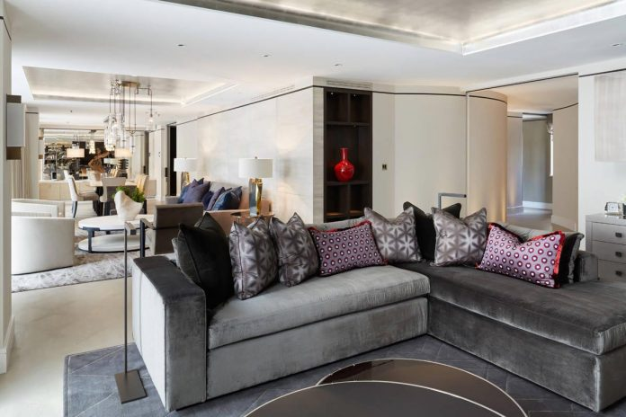 Cozy Apartments two:d designed a luxurious apartment cozy apartment in london