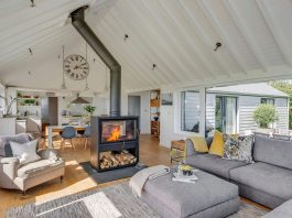 1960's bungalow transformed into a modern, open plan home with a contemporary remodel and extension