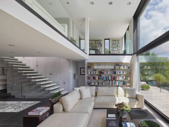 Amazing private three-storey residence is situated in Southern Germany