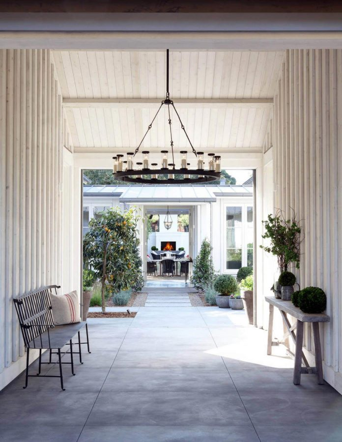 Beautiful Farmhouse In Sonoma County By Jim Murphy And