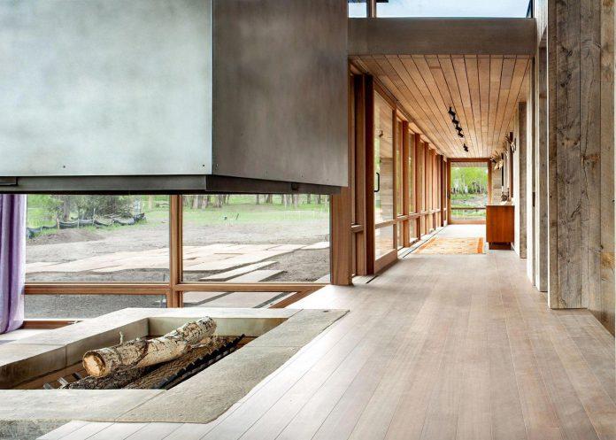 Big timber riverside by hughes umbanhowar architects could - Residence luxe hughes umbanhowar architects ...