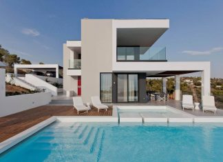 "Contemporary villa overlooking the Mediterranean sea located in Porto Heli, the ""Hamptons"" of Greece"
