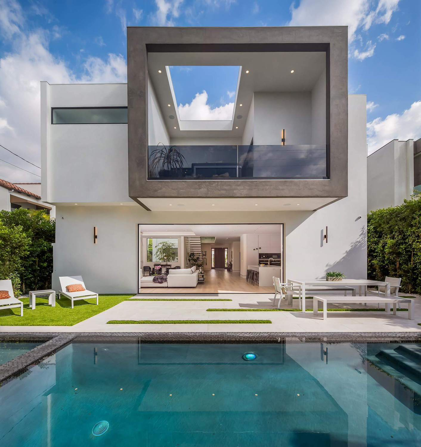 Exquisitely crafted contemporary is a model of style and for Home architecture blog