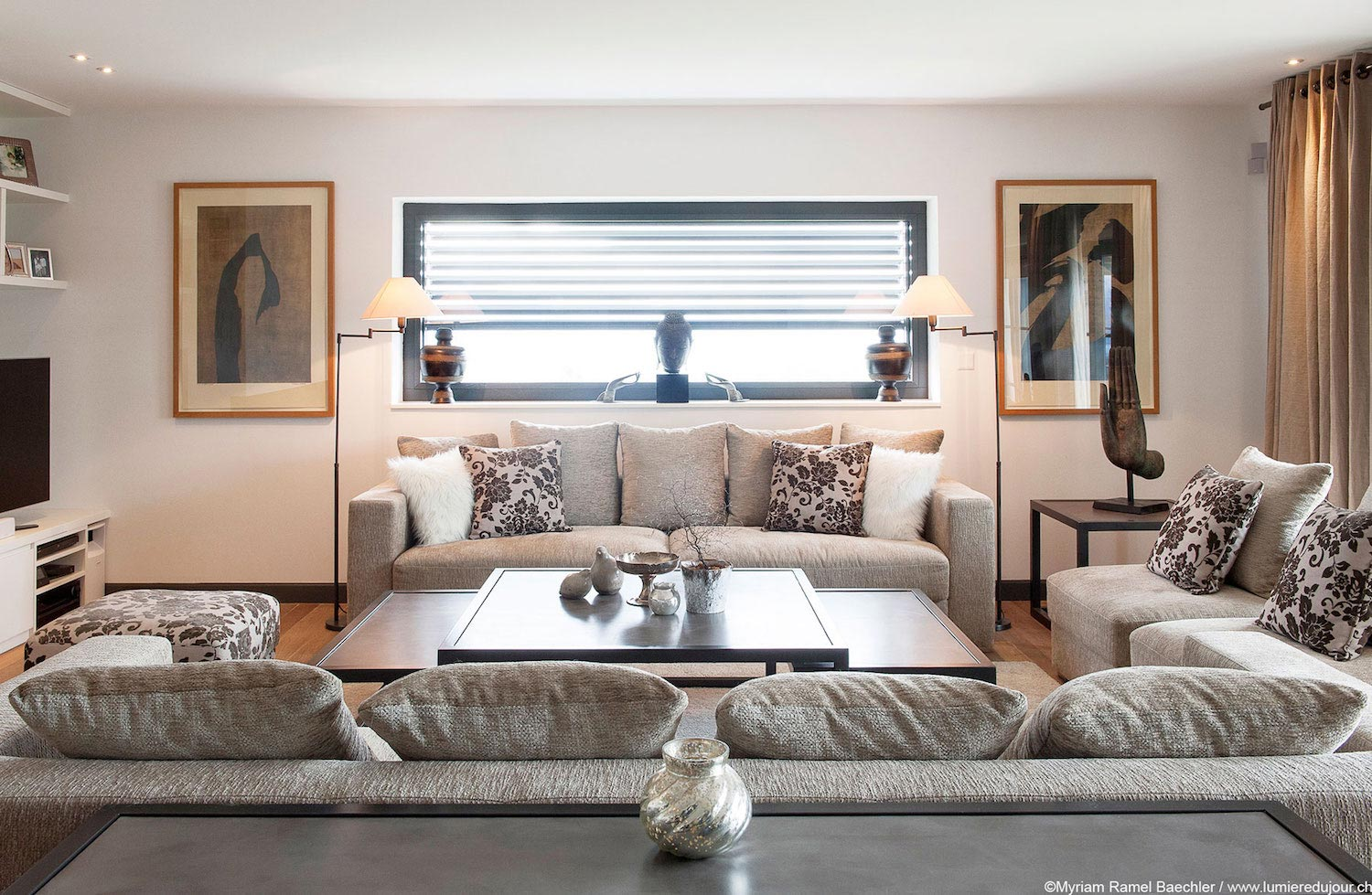 Home in le mont sur lausanne establishing the connection between modern and rustic caandesign - Connection between lifestyle home design ...