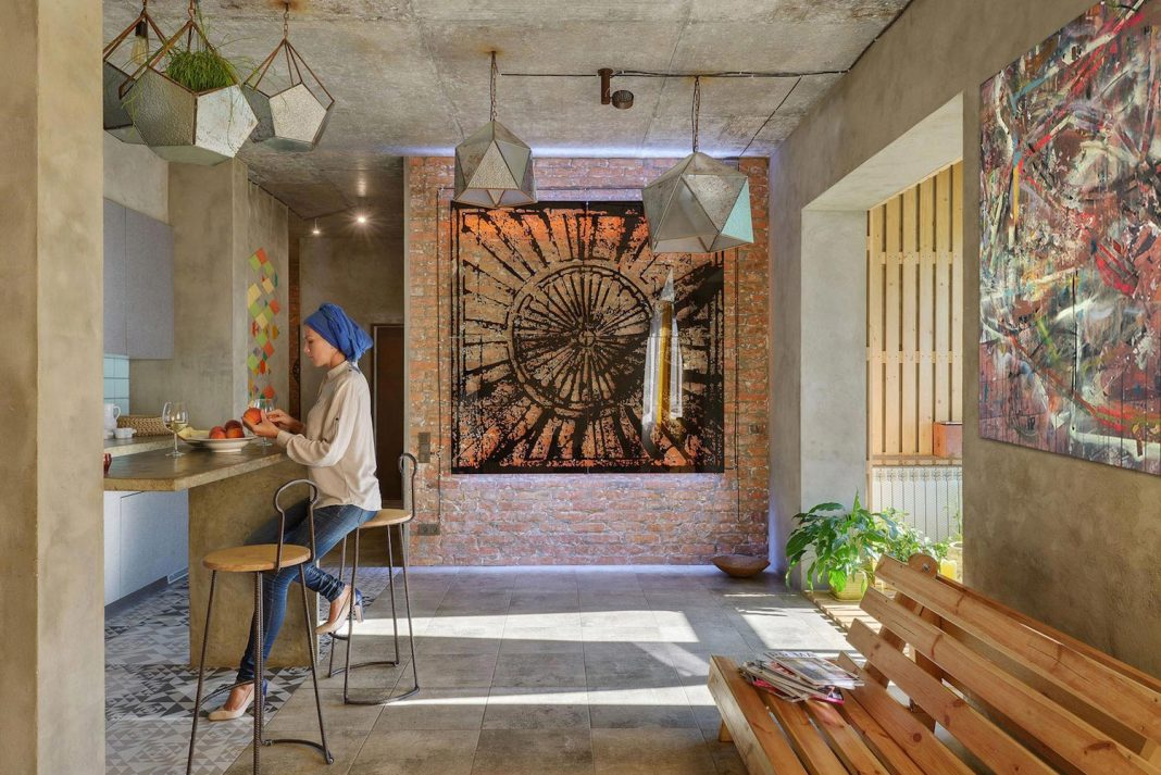 House of the Sun: a Persian influence in the design of an apartment in Kiev