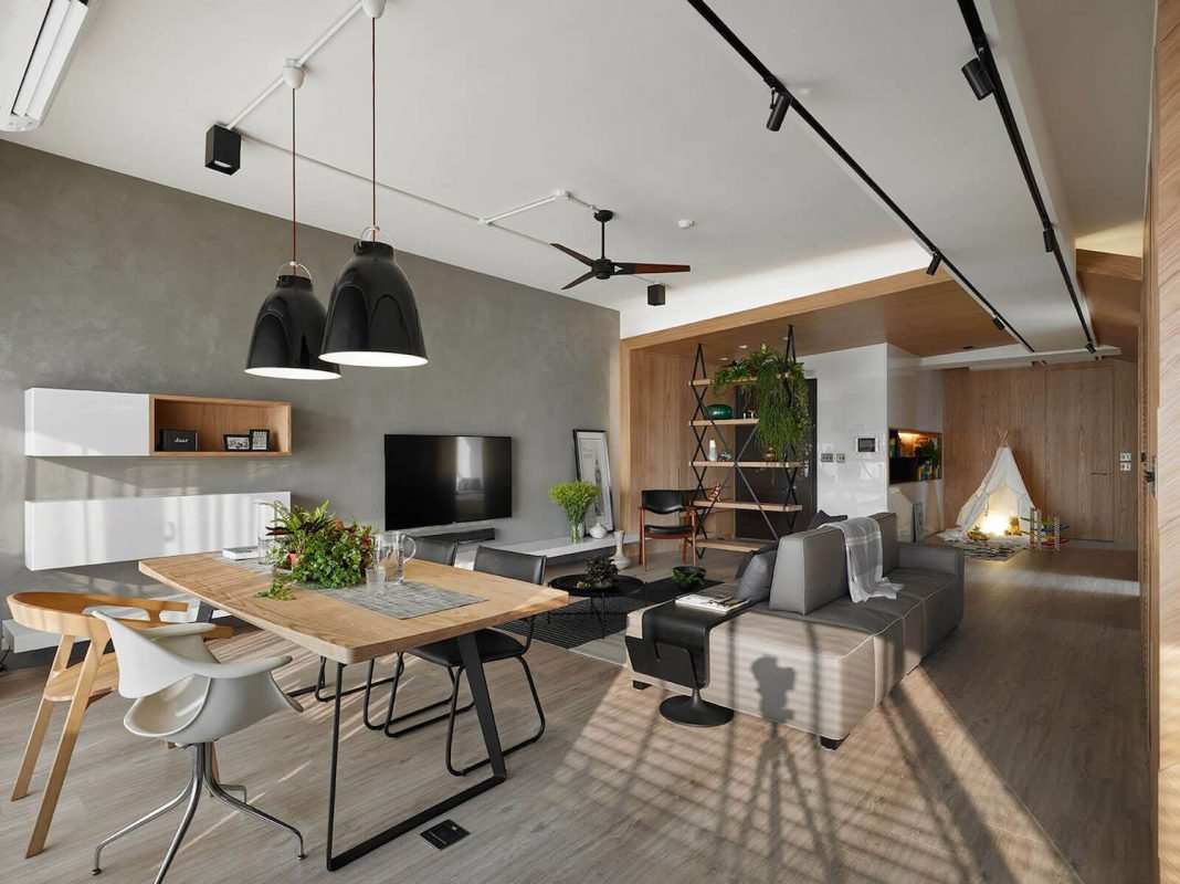 Maximize the spaces for the children, as well as bringing maximum natural light into the space