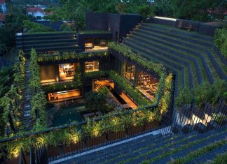 Open home, a cool tropical house intended for multi-generation living