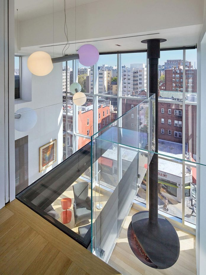 Penthouse With Large Double Height Space Anchored At The