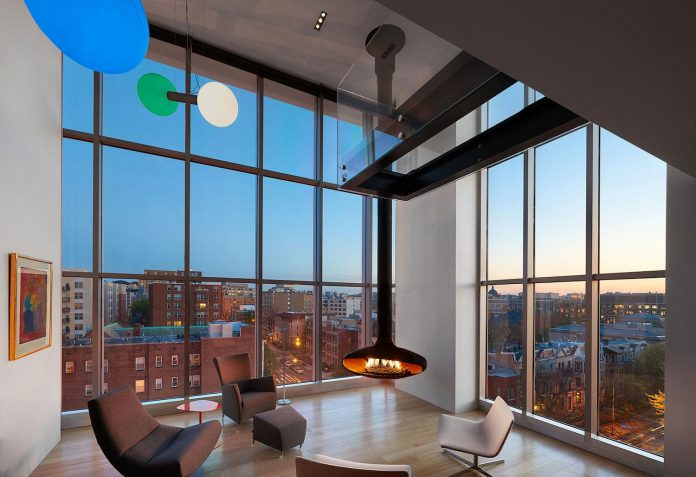 Penthouse With Large Double Height Space, Anchored At The