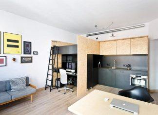 """Place for living and for working with a """"hiding-room"""" for a 6-years old"""