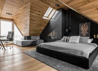 Stylish tiny attic apartment in the Polish town of Sopot