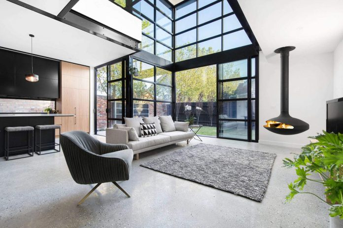 Aspect 11 designs a home with a completely different style experience than its neighbours in Melbourne, Australia
