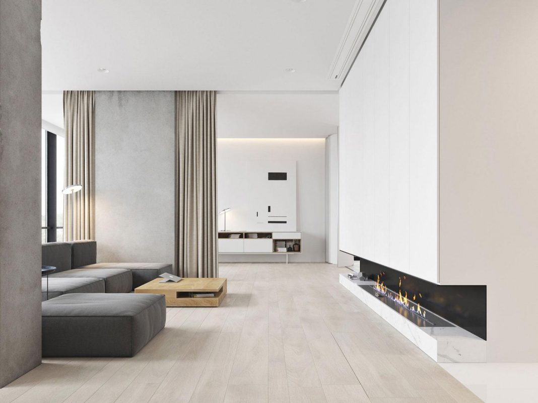 Bachelor Apartment Pleasantly Modern But Still Casual