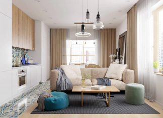 Barca contemporary apartment designed by Kristina Saakyan