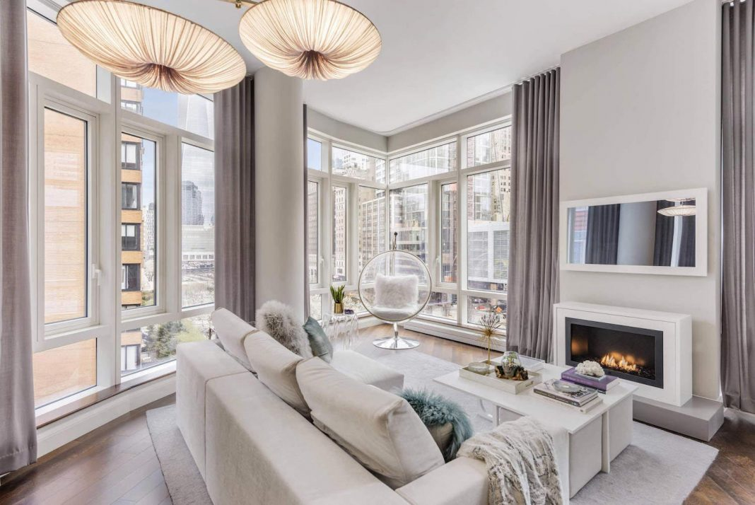Battery Park City Beautiful Apartment Designed By Lo Chen