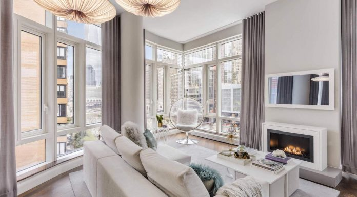 Battery Park City beautiful apartment designed by Lo Chen Design