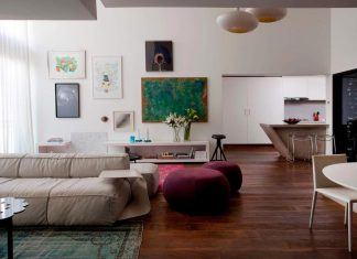 Campo Belo open space apartment in Sao Paulo