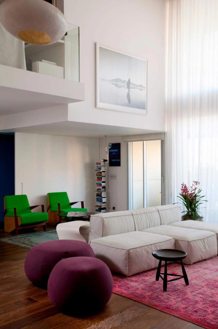 Campo belo open space apartment in sao paulo caandesign for Open space apartment