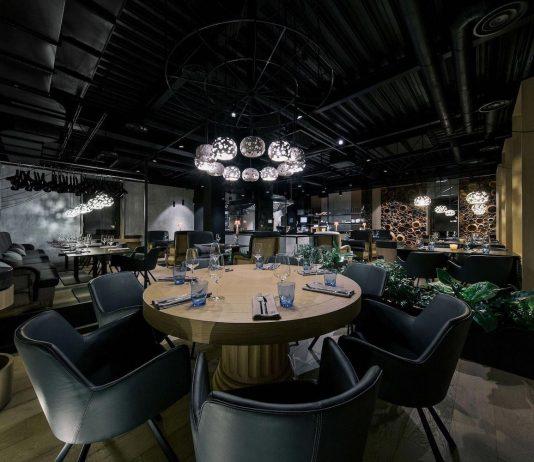 Casa Nori stylish restaurant in Kiev, Ukraine designed by Yodezeen
