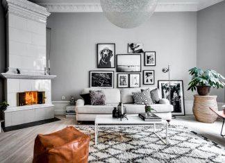 Chic Scandinavian apartment design by Alexander White