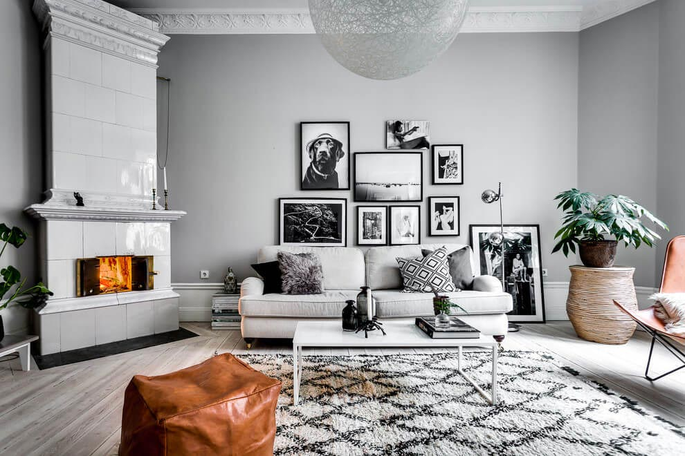 Chic Scandinavian apartment design by Alexander White